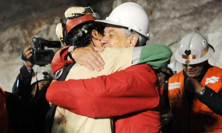 Chile Miners, 2010