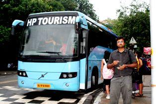 Himachal AC Bus