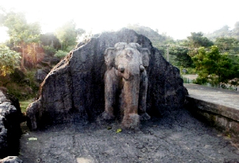 Rock Elephant Orissa