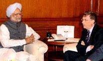 Bill Gate India 2009