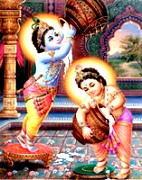 Child Lord Krishna