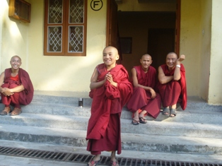 Dancing monks of Dharamsala