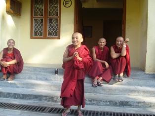 Dancing monks of Dharamsala