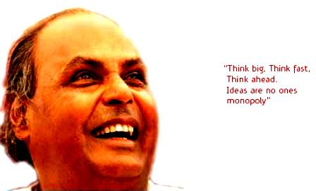 Reliance Icon - Dhirubhai Ambani