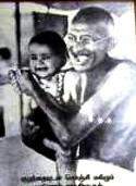 Child and Gandhi