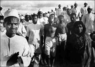 Salt March Gandhi