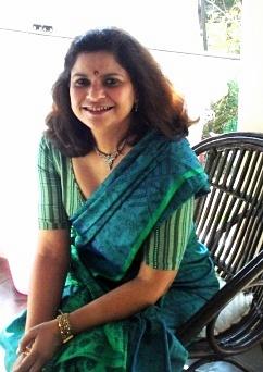 October Autumn, Indian Sari