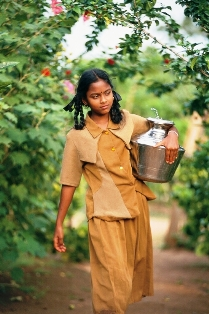Indian Village Girl
