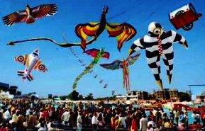 Kite Flying India