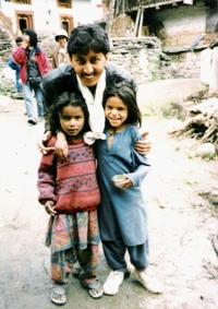 Village Kids of Manali, Himachal Pradesh India