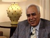 Kabil Sibal, HRD Minister