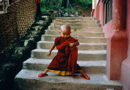 Buddhist Monk India