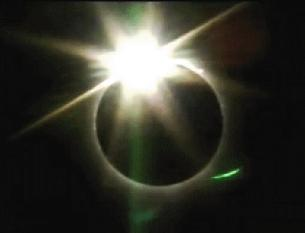 Diamond Ring Solar Eclipse 2009