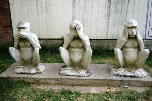 Gandhi Monkeys