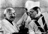 Gandhi and Bose