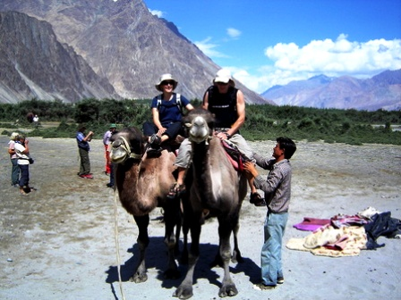Camel Safari Nubra Valley