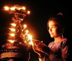 Diwali Delhi, India