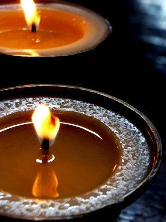 Butter Lamps, Dharamshala