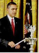 Barack Obama Diwali